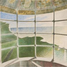 Eric Ravilious, 'Beachy Head Lighthouse (Belle Tout)' watercolour and pencil on paper, 1939.