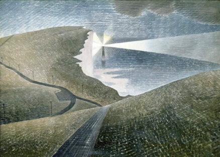 Eric Ravilious, 'Beachy Head', watercolour, 1939.