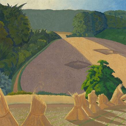 John Nash 'The Cornfield', oil on canvas, 1918