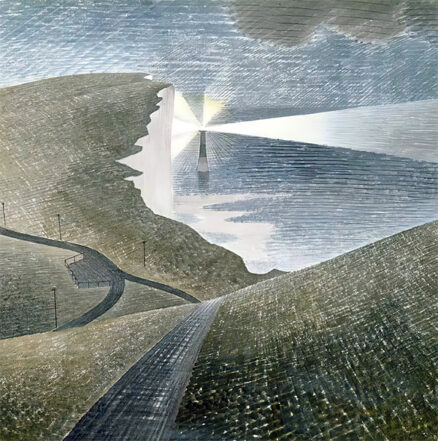 Eric Ravilious 'Beachy Head Lighthouse', watercolour on paper, 1939