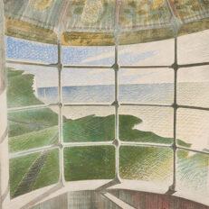 Eric Ravilious 'Beachy Head Lighthouse (Belle Tout)', watercolour on paper, 1939