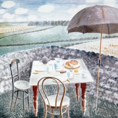 Eric Ravilious 'Tea at Furlongs'