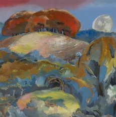 'Landscape of the Moon's Last Phase', Paul Nash, oil on canvas, 1944.