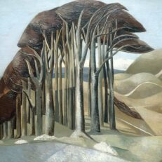 'Wood on the Downs', Paul Nash, oil on canvas, 1929