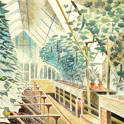 'Cucumber House', Eric Ravilious, watercolour, 1935.