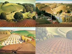 The Grant Wood Card Collection