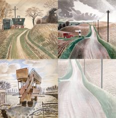 Ravilious off and on the Road