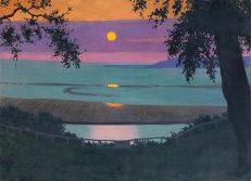 Felix Vallotton 'Sunset', oil on canvas, 1918