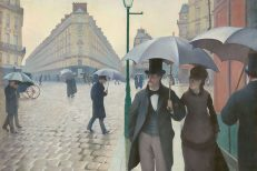 'Rue de Paris, Temps de Pluie', Gustave Caillebotte, oil on canvas, 1877