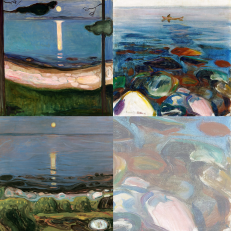 Edvard Munch Greetings Cards