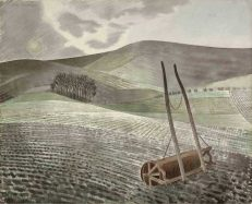 'Downs in Winter' Eric Ravilious, watercolour, 1934