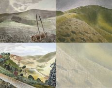The Ravilious on the Downs Greetings Card Collection