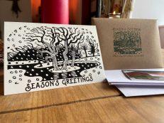 Eric Ravilious 'December' Woodcut