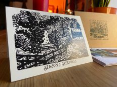 Eric Ravilious 'Considerable Falls of Snow' Christmas Card
